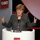 """Merkel zur IT-Branche: """"Es gibt immer wieder Rückschläge"""""""