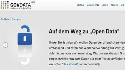Nicht alle Daten auf dem Bundesportal Govdata.de sind wirklich frei.