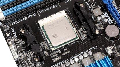Der A10-5800K im Asus-Board A85-M Pro