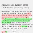 Draft: Besser schreiben mit Versionskontrolle