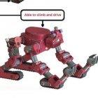 Roboter: Chimp, das humanoide Kettenfahrzeug