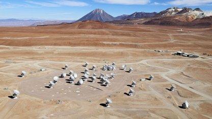 Alma-Antennen: Auflösung wie ein 16-Kilometer-Teleskop