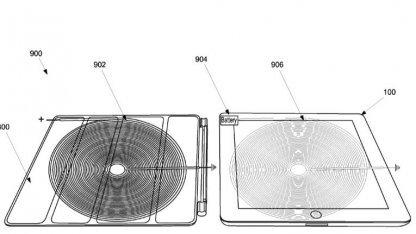 Apples Patentantrag zur Induktionsladefunktion eines iPad