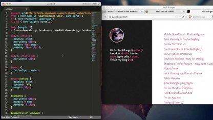 CSS in SublimeText editieren, mit Live-Anbindung an Firefox