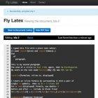 Flylatex: Freier und kollaborativer Online-Editor für LaTeX