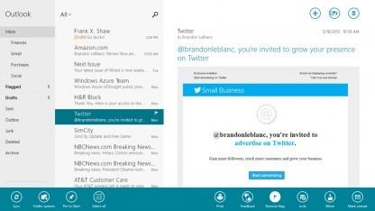 Neue Mail-App für Windows 8