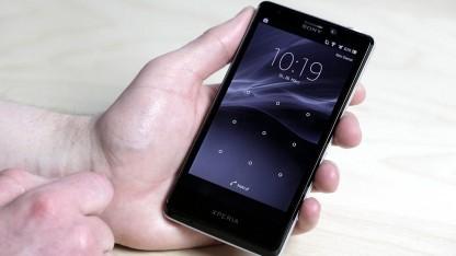 Displaysperre des Sony Xperia T lässt sich umgehen.