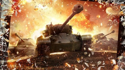 Artwork von World of Tanks Blitz