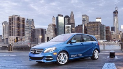 B-Class Electric Drive: erst in den USA, dann in Europa