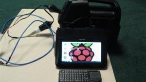 Mobiles Raspberry Pi mit Akku und Display