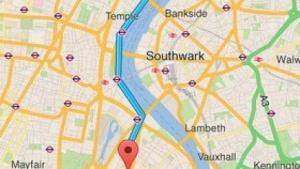 Google Maps auf dem iPhone