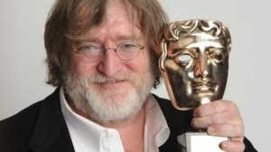 Valve-Chef Gabe Newell bei der Bafta-Preisverleihung