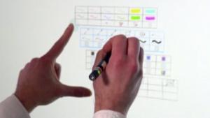 Microsoft Research: Bedienungskonzepte für große Touchscreens
