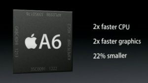 Der A6 des aktuellen iPhone 5
