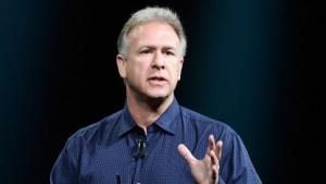 Apples Marketingchef Phil Schiller im Oktober 2012