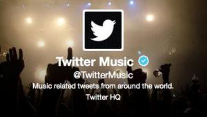 Gescheitert: Twitter Music
