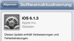 iOS 6.1.3 ist da