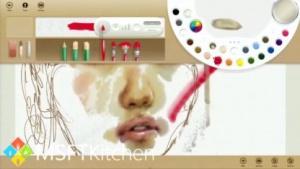 Microsoft Techfest: Video zeigt Fresh Paint unter Windows Blue