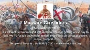 Die Malware Crusaders kämpfen gegen Schadsoftware.