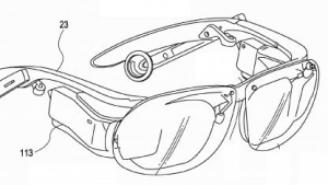 Sieht so Sonys Computerbrille aus?