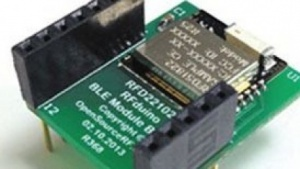 RFduino funkt mit Bluetooth Low Energy.