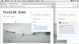 P2P-CDN läuft dank WebRTC direkt im Browser.