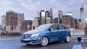 Kooperation zwischen Daimler und Tesla: die elektrisch angetriebene B-Klasse