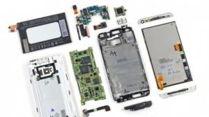 Zerlegtes HTC One