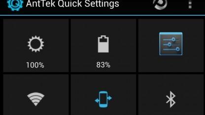 Schnelleinstellungen auch für Geräte ohne Android 4.2