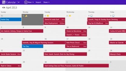 Outlook.com-Kalender im neuen Gewand
