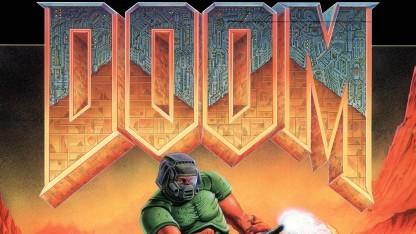 Klassischer Doom-Schriftzug