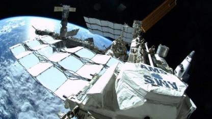 AMS-2 auf der ISS: 400.000 Positronen