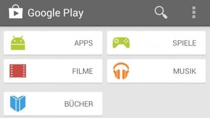 Neuer Play Store