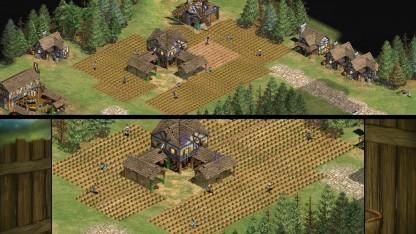 Age of Empires 2 HD und das Original von 1999 im Vergleich