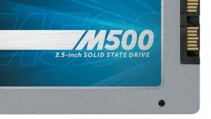 Die M500 mit 960 GByte wird ausgeliefert.