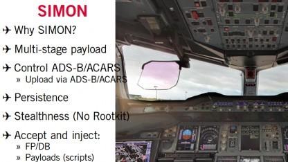 Hugo Teso hat demonstriert, wie ein Flugzeug mit einer Android-App gesteuert werden könnte.