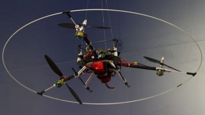 Tricopter: steht schräg in der Luft