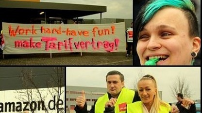 Warnstreik in Bad Hersfeld
