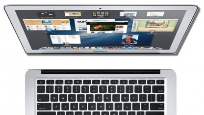 Getrennt: Bildschirm und Tastaturbasis