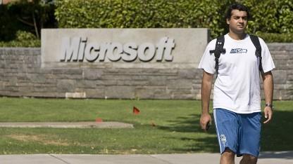 Microsofts Umsatz wiederum geringer