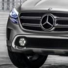 SUV: Mercedes mit Laserprojektor für Autokino auf der Straße