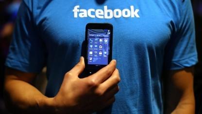 Facebook Home auf einem Android-Smartphone