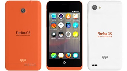 Keon - Smartphone mit Firefox OS