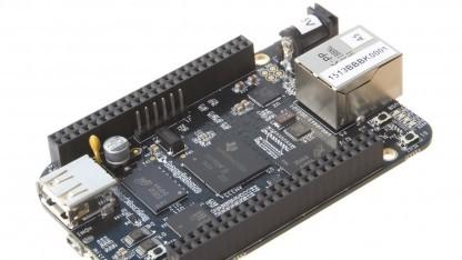 Das Beaglebone Black von Texas Instruments tritt gegen das Raspberry Pi, Arduino und Co. an.
