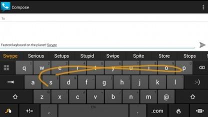 Swype-Tastatur
