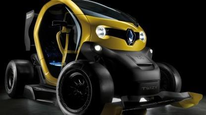 Twizy Renault Sport F1: Rennsporttechnik in Serienfahrzeugen einsetzen