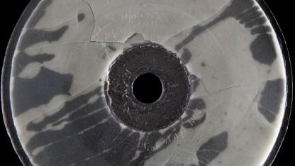 Historische Platte: beurkundet  Bells Stimme