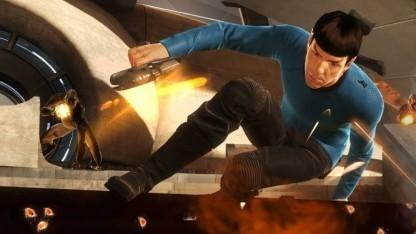 Test Star Trek Das Videospiel: Kirk und Spock mit Kommunikationsproblemen