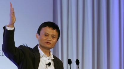 Alibaba-Chef Jack Ma im März 2013 auf einer Konferenz in Hongkong