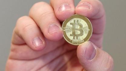 Ein Software-Ingenieur in Utah prägt Bitcoins, eigentlich gibt es die Währung aber nur digital.